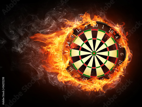 Fotografia Darts Board