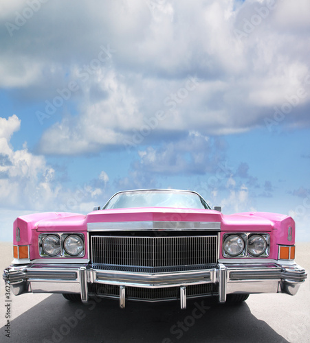Oldtimer-Detail Canvas Print