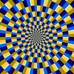 Fototapeta Iluzja optische Täuschung