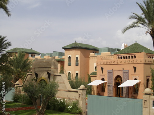 Poster de jardin Paris Rezydencja w Marrakeszu