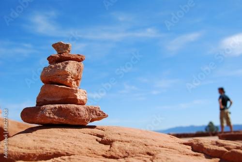 Fotografía  arches national park - balanced rock
