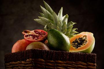 FototapetaCesto di Frutta Esotica