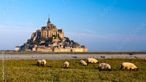 Fototapeta Le Mont Saint Michel, France