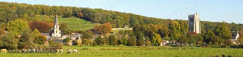 Le Bec Hellouin panoramique Fototapet