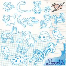 Doodle - Tiere