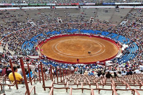Bullfighting stadium, Plaza de Toros, Mexico