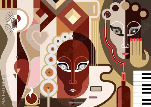 abstrakcjonistyczna-ilustracja-w-stylu-boho