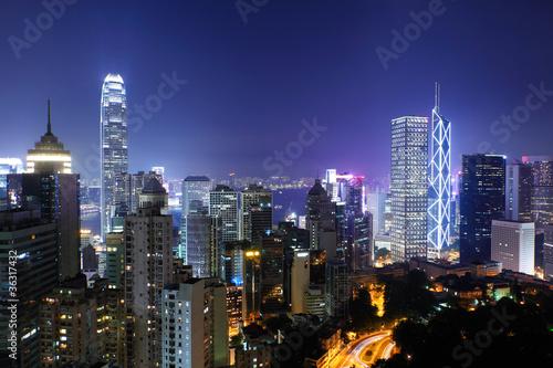 Poster Chicago Hong Kong city