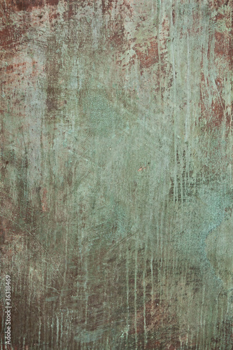 Metall Textur Patina