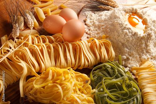 Fotografie, Obraz  Pasta all'uovo