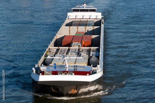 Fotografia  cargo barge