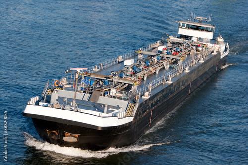 Stampa su Tela tanker barge