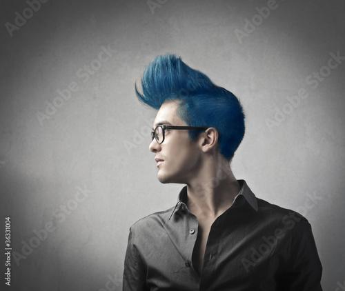 Fotografie, Obraz  Fashion hairstyle