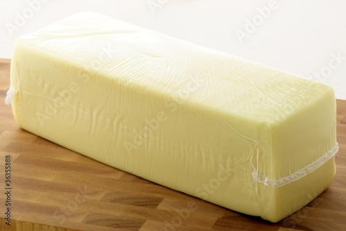 Fototapeta mozzarella cheese block obraz
