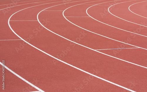 Fotografie, Obraz  Piste d'athlétisme