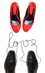 Chaussures homme femme love