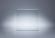 Photo Of Blank Glass Plate With Copy Space