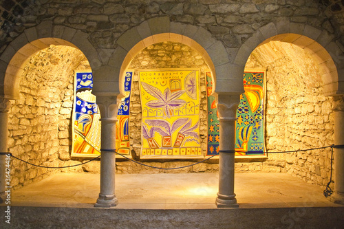Foto Baños arabes en el casco antiguo de Girona