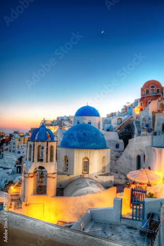 Fototapeta Oia - Santorini obraz