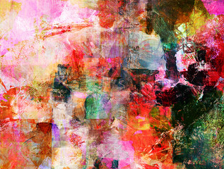 Obraz na Pleximalerei texturen
