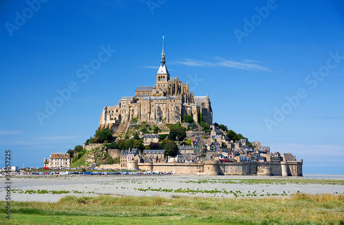 Mont Saint Michel Fotobehang