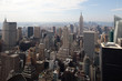 New York city depuis le Top of the Rock