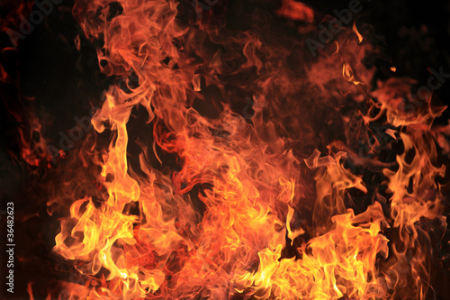 Photo sur Aluminium Feu, Flamme 炎