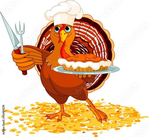 Fotografija  Turkey and Pie