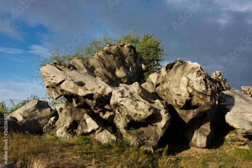 Photo sur Aluminium Ile Teufelsmauer Harz
