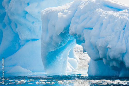 Canvas Prints Antarctic Antarctic Glacier
