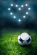 canvas print picture Soccer Love