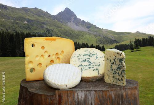 Fényképezés  les fromages....