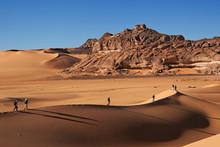 Marche Sur Dune En Libye
