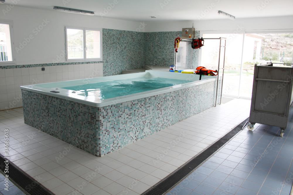 Fototapeta piscine spa pour chiens - hydrothérapie canine