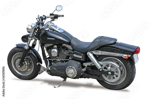 niestandardowy-motocykl-na-bialym-tle
