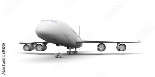 Foto-Doppelrollo - Flugzeug (von Spectral-Design)