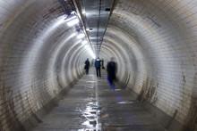 Greenwich Foot Tunnel, London.