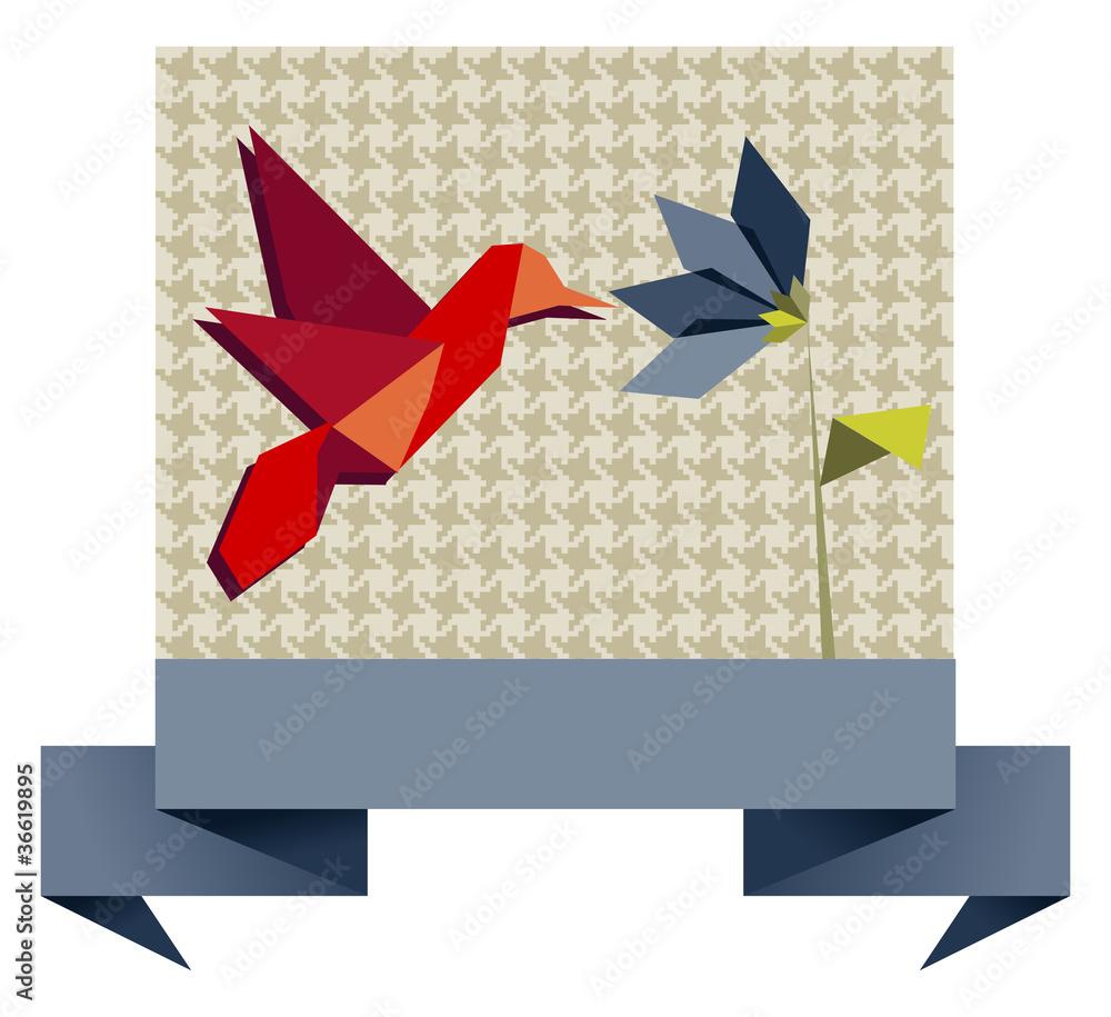 Hummingbird   An Origami a Day   915x1000