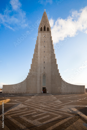 Obraz na plátně Hallgrimskirkja church in Reykjavik, Iceland