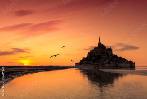 Photo  Mont Saint Michel, France