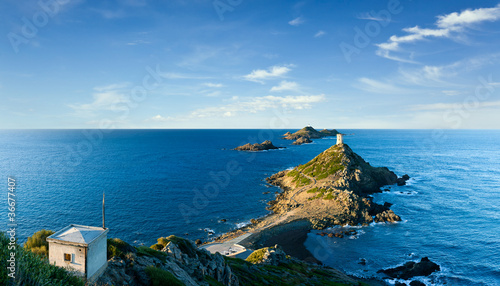 îles Sanguinaires, Corse Canvas Print