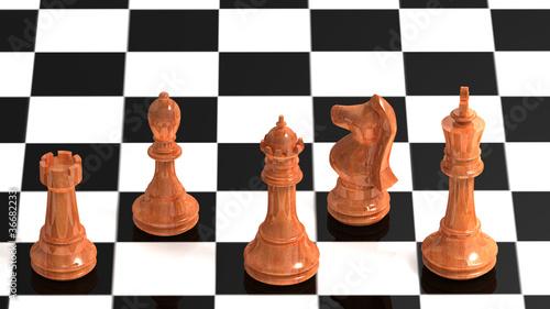 Fototapety, obrazy: Chessmates