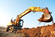 Wheel Loader Excavator
