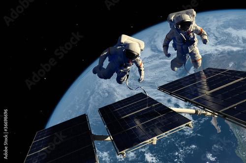Keuken foto achterwand Nasa The astronaut