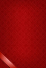 Festive Red Background With Re...