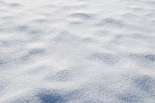 Waves Of Snow Bumps