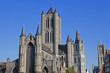 canvas print picture - St. Nicholas' Church in Gent