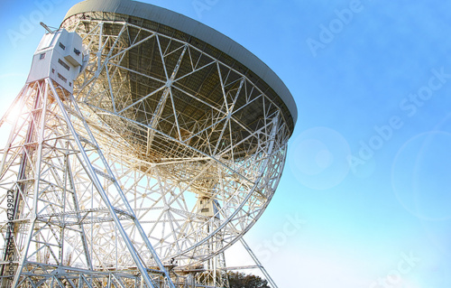 Deurstickers Nasa Lovell telescope