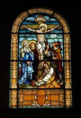 Naklejka Witraże sakralne kirchenfenster