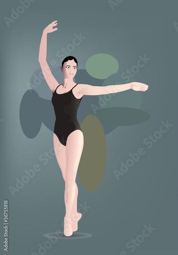 Photo  balerina